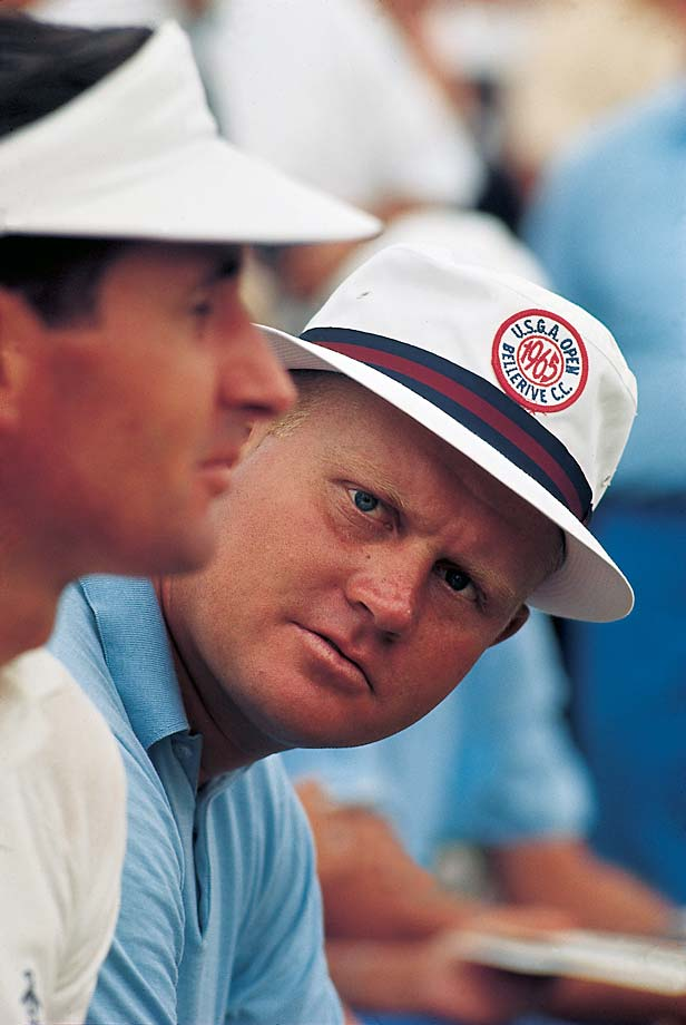 Jack Nicklaus during the 65th U.S. Open at Bellerive Country Club in St. Louis.