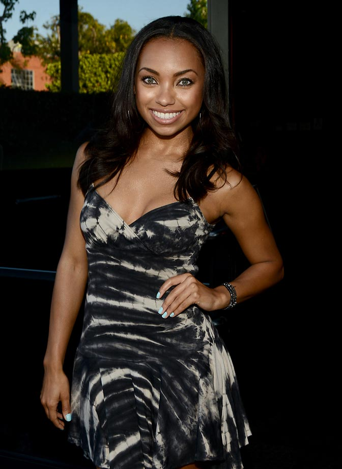 Logan Browning :: Getty Images