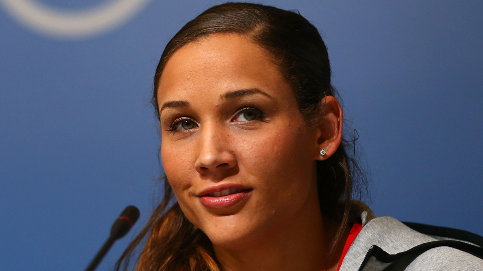 Lolo Jones is dealing with cold and flu-like symptoms in Sochi.