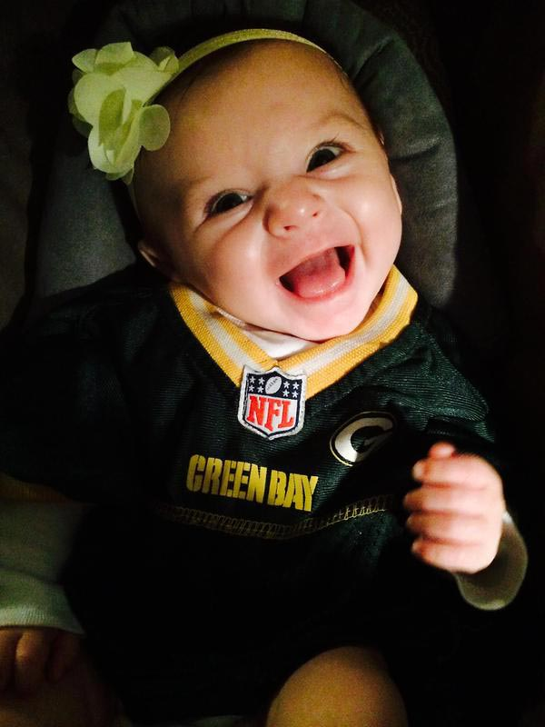 @SInow #myNFLFanStyle @packers