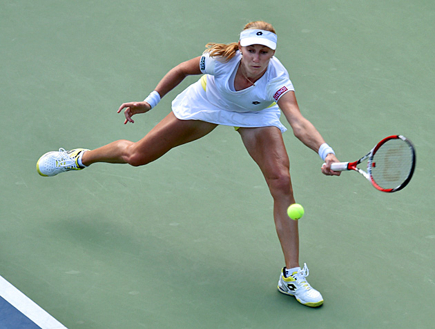 Ekaterina Makarova made the semifinals in singles and won the doubles title at the U.S. Open.