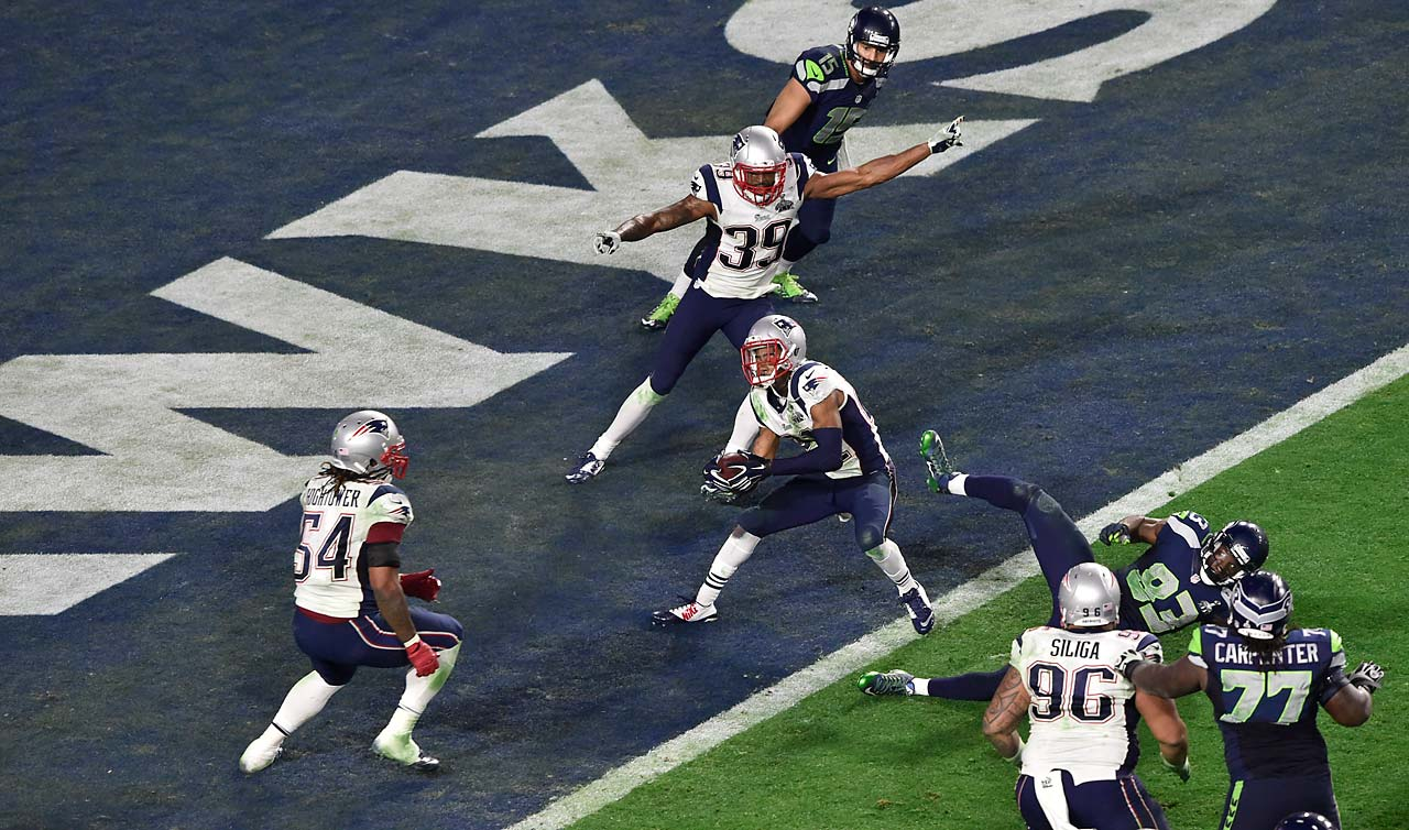 Malcolm Butler's first career interception gave the Patriots their fourth Super Bowl victory in the past 14 years.