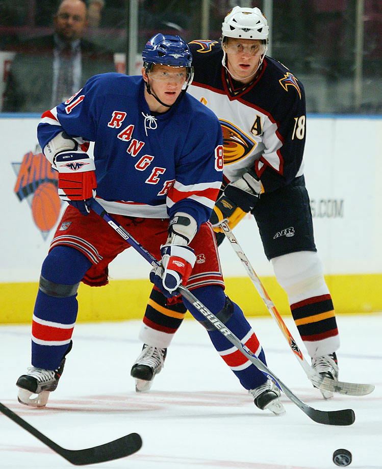 Marian (right), a first round pick by Ottawa in 1997, is earning Hall of Fame consideration with a career that now includes more than 490 goals and 1,000 points, five All-Star Games and three Cups with Chicago. Younger brother and fellow winger Marcel played in 237 NHL games with the Canadiens, Rangers and Coyotes (2001-08) before returning to their native Slovakia. As recently as 2009-10, he had a 35-goal season in the KHL, a pro career high.