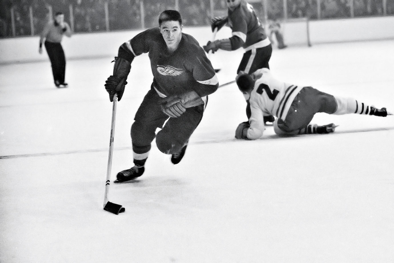 Pronovost played in 11 All-Star Games and won five Cups, including four with Detroit and one with Toronto. A former forward, he played both positions early in his NHL career. During Toronto's Cup run in 1967, the steady Pronovost was on the ice for only one even-strength goal-against during the entire postseason.