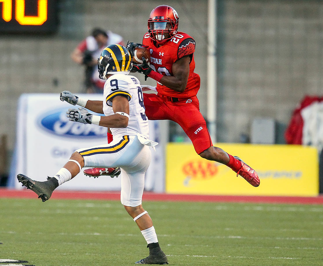Utah's free safety started all 12 games as a sophomore, recording five interceptions (including one against Oregon that he returned 52 yards for a touchdown) and 66 tackles. His 2015 season earned him a first-team All-Pac-12 selection.