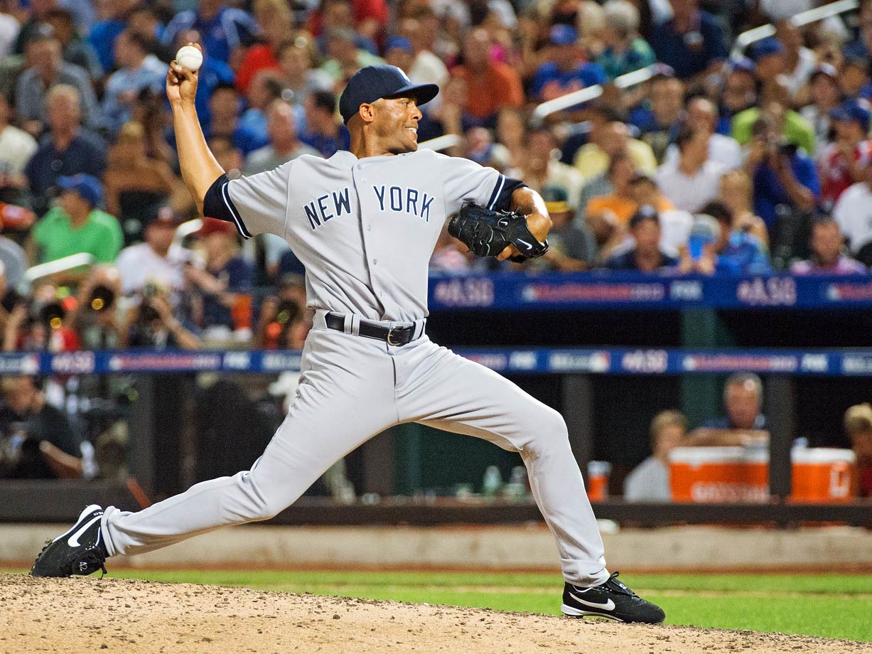After Harder, the pitcher with the next-most All-Star innings and a 0.00 ERA is Rivera, who made the team 13 times (second most among pitchers after Warren Spahn's 17), appeared in nine games, finished six of them (tied with Gossage for the All-Star Game record), saved four (the outright record), walked no one (he holds the record for most innings pitched without a walk) and allowed only one unearned run, that coming after a Nomar Garciaparra throwing error in 2000. Of Rivera's nine All-Star appearances, six of them passed without his allowing a hit or a walk. If not for a Jose Lopez error in '06, five of those would have been 1-2-3 innings.