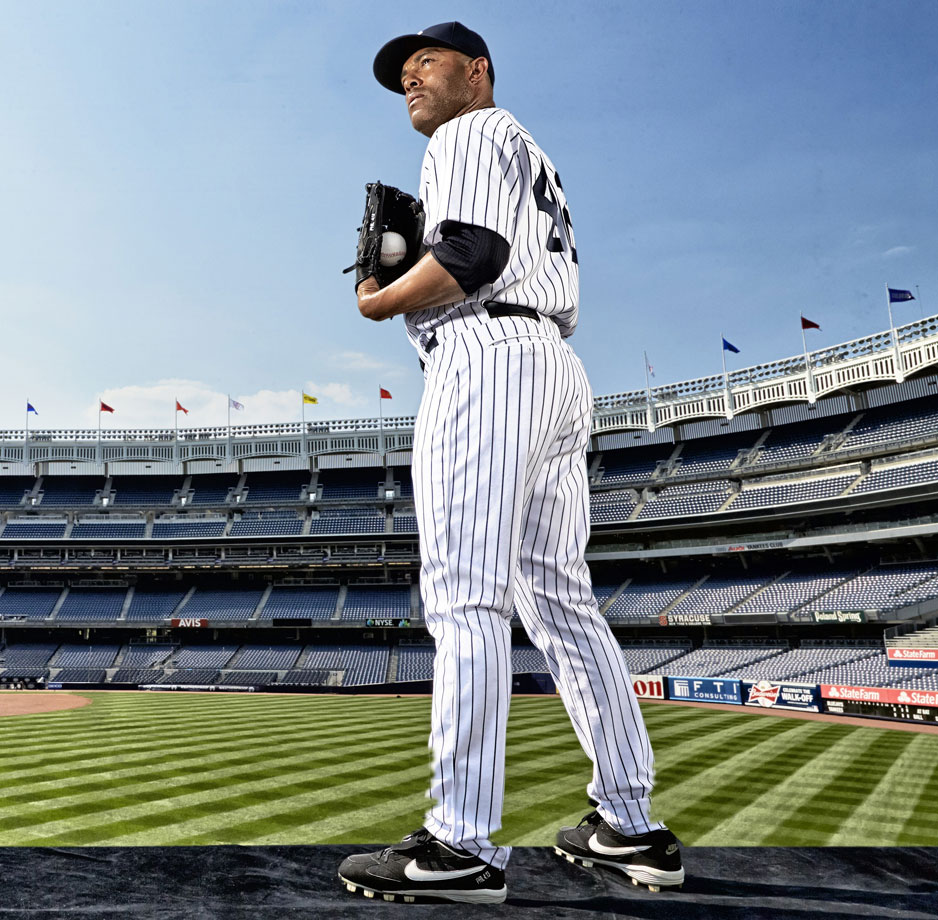 The greatest relief pitcher of all time was signed by the Yankees as an amateur free agent, Mariano Rivera played his entire career for The Pinstripes. The 13-time All-Star saved at least 40 games nine times, including a career-high 53 games in 2004. A future Hall of Famer, Mo also won five World Series titles.