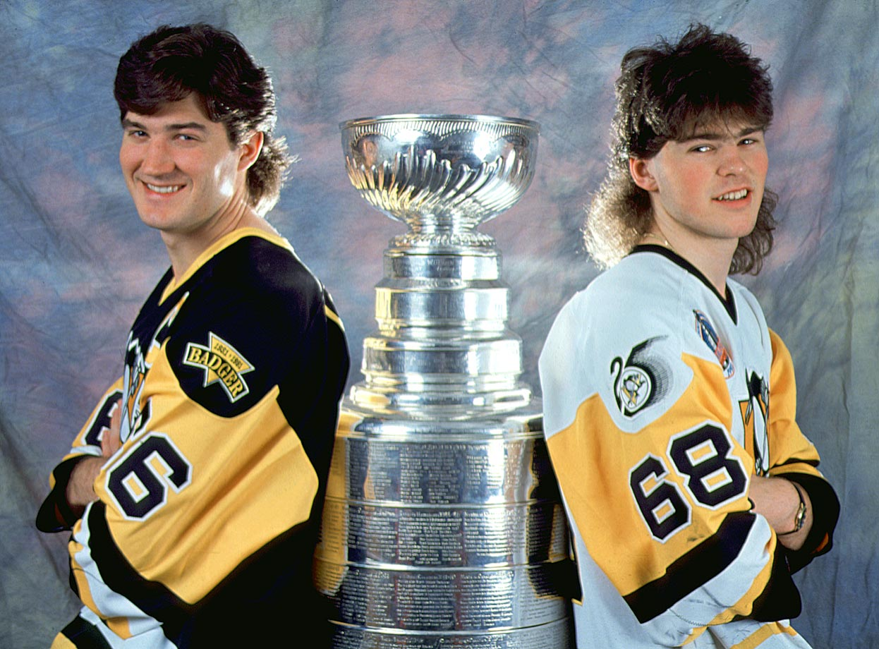 Super Mario was a serious challenger to Wayne Gretzky as the NHL's best player when the supremely talented Jagr arrived for the 1990-91 season. The speedy rookie helped Pittsburgh win the first of two straight Stanley Cups (Lemieux won the Conn Smythe each time) while learning from the superstar and earning the nickname ''Mario Jr.'' Lemieux's health issues (back, Hodgkin's disease) eventually cost the sometimes linemates four full seasons together, during which Jagr took over as league's premiere scorer until 2001 when he was traded to Washington.