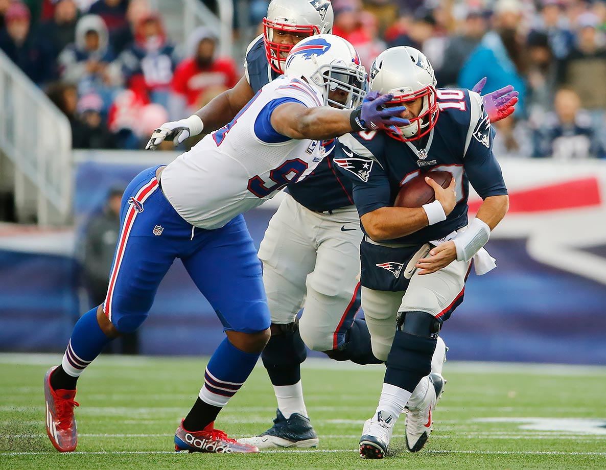 After four seasons, two Pro Bowls and one All-Pro selection, the Bills cut Mario Williams. 2015 was a down year for the 30-year-old defensive end, who had repeatedly questioned coach Rex Ryan's defense during the year.