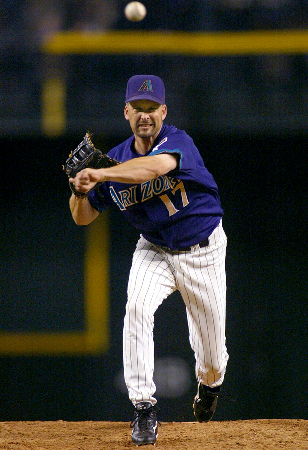 Three-time All-Star and four-time Golden Glove Award winner Mark Grace pitched the last inning for the Diamondbacks in a 19-1 blowout against the Dodgers. Grace subsequently allowed catcher Dave Ross to hit the first home run of his career. Said Grace, ''Obviously he can hit 65 mph fastballs.''