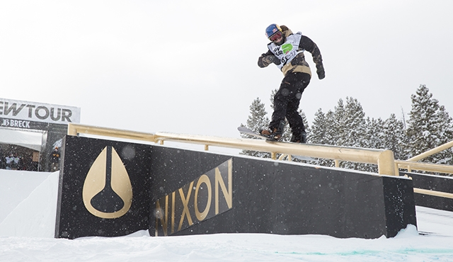 Mark McMorris in the men's slopestyle finals.