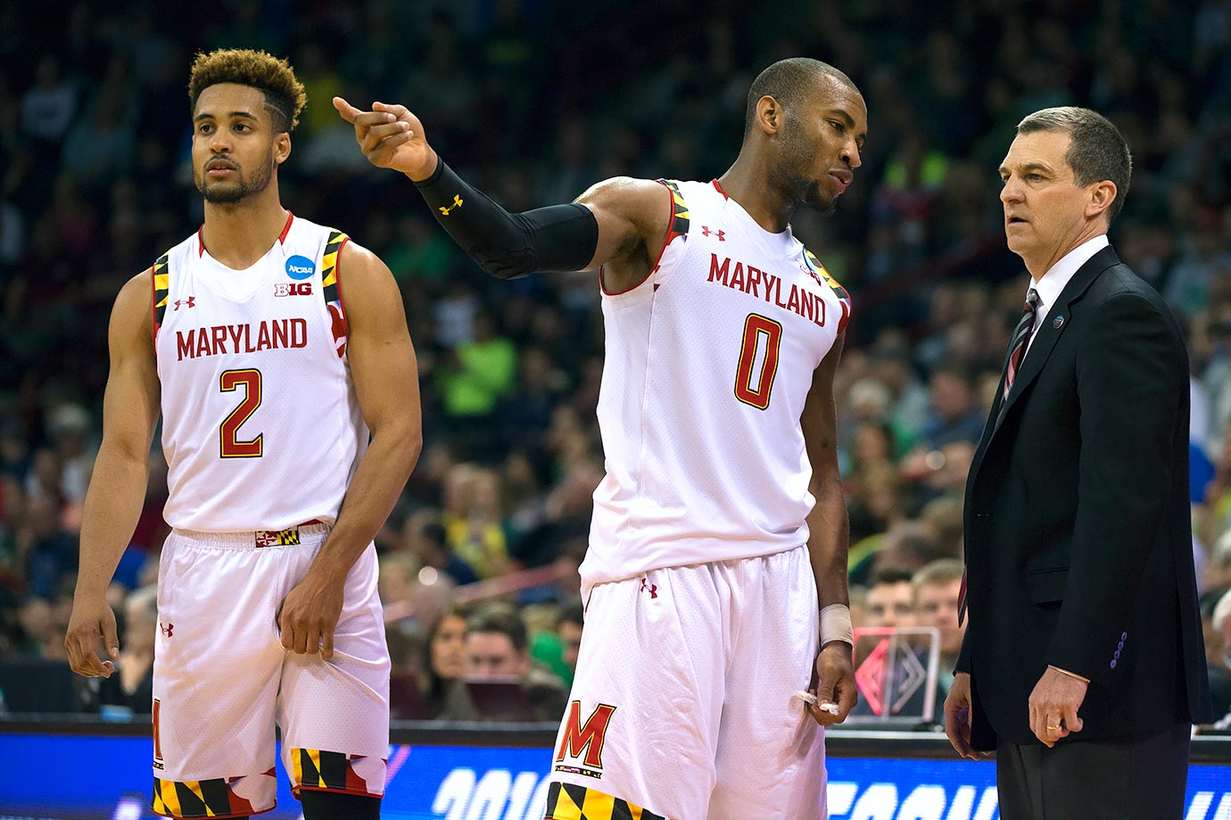 Why won't the Terrapins win it all? Well, they have to play Kansas in the Sweet 16. Maryland did not win one game this season in which they were the underdogs. Kansas is favored by 6.5 points on Thursday.