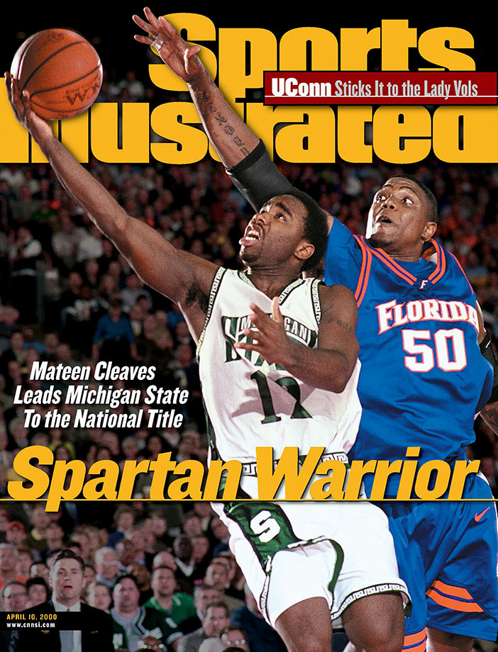 "Cleaves was the Spartans' only three-time All-America and was named Big Ten Player of the Year twice. Cleaves holds the Big Ten record for career assists with 816 and set the single-season record as a junior with 274. But it was his leadership that mattered most as Michigan State won the 2000 NCAA championship. Cleaves' dramatics in the 2000 championship game against Florida were legendary. After taking a nasty foul from Gators guard Ted Dupay, Cleaves had to leave the game and it looked like he would not return after suffering a sprained ankle. However, he hobbled back onto the court in the second half, finished with 18 points and four assists in the win, and wept as he leaned on crutches and watched ""One Shining Moment""."