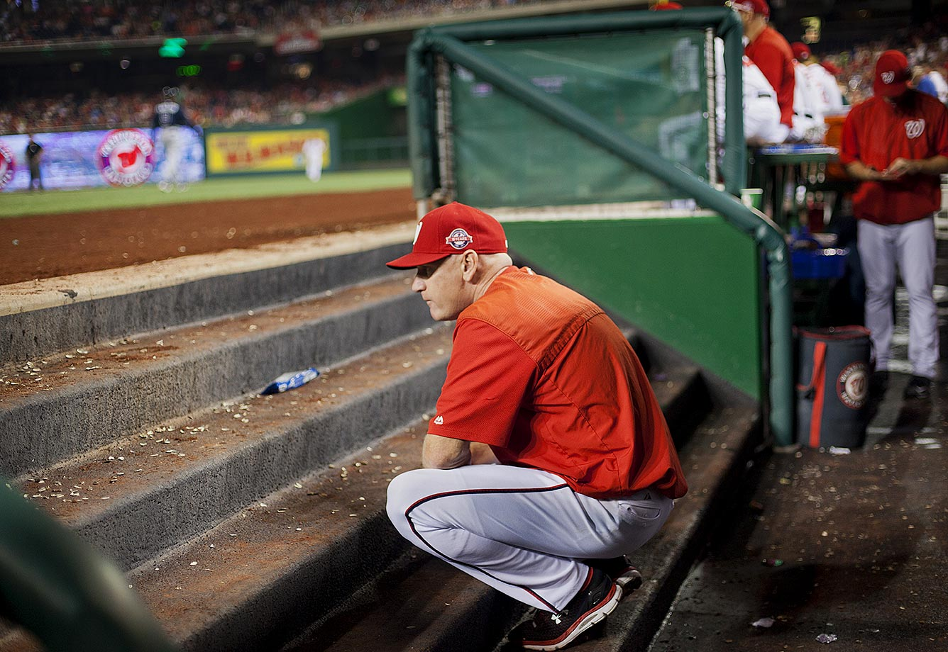 The first victim of the end-of-season MLB purge. Matt Williams was in charge of the most promising team in baseball, but somehow the Washington Nationals couldn't put it together and fell apart in total petulence. Honestly we knew Williams was gone for months now.