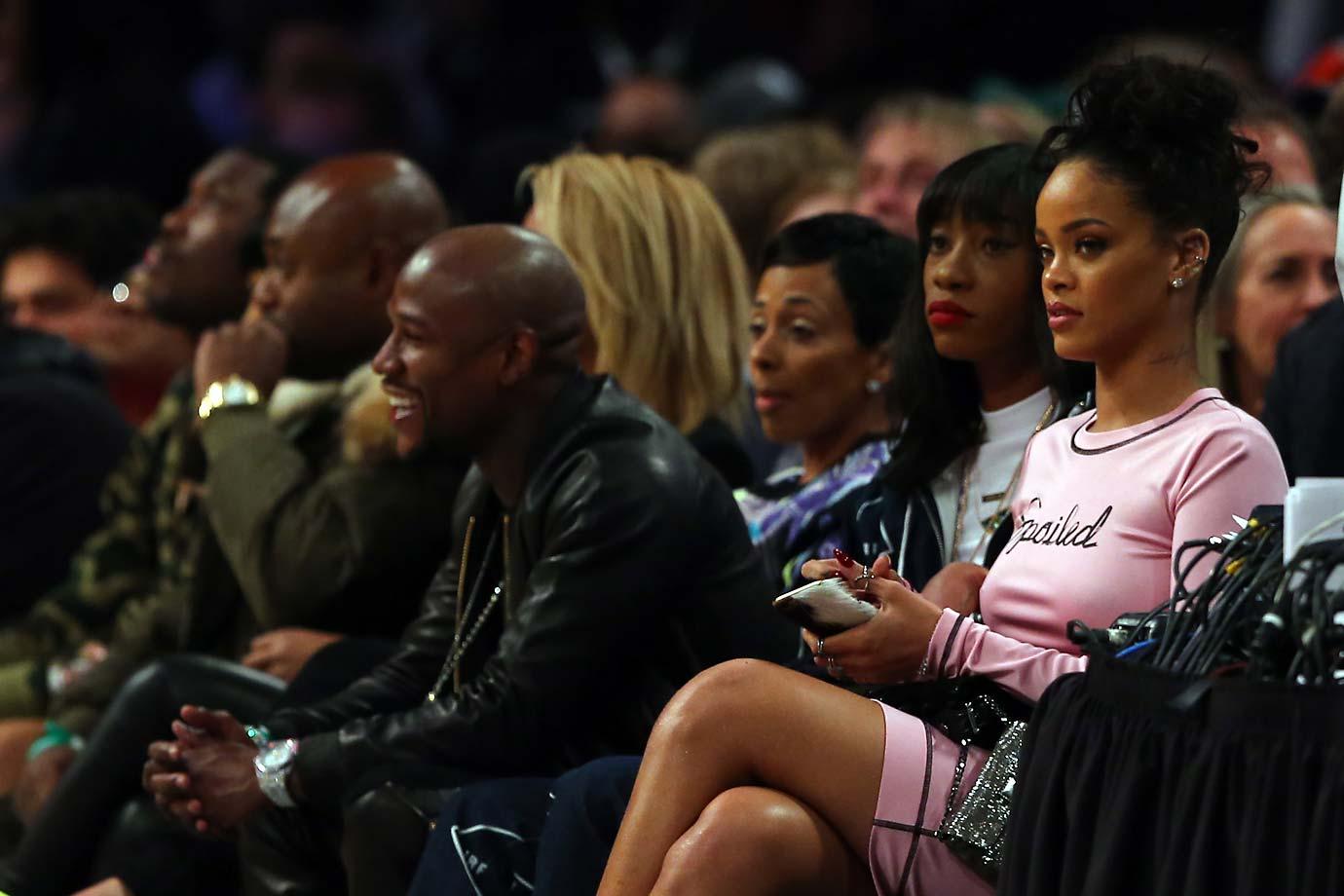 Floyd Mayweather Jr., Rihanna