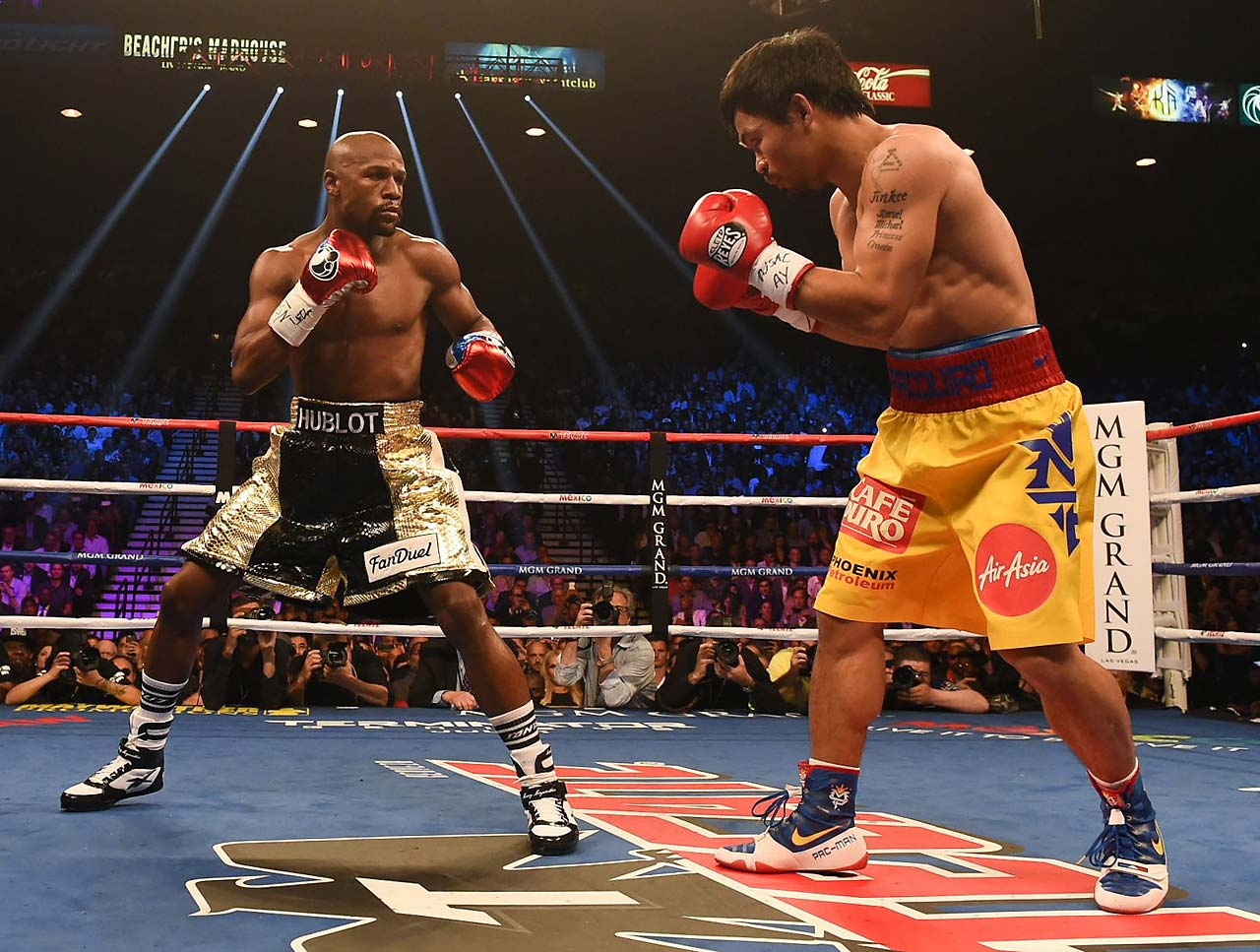 After the fight, it was disclosed that Pacquiao injured his right shoulder in training and that Nevada boxing commissioners denied his request to take an anti-inflammatory shot in his dressing room before the fight. (AP)