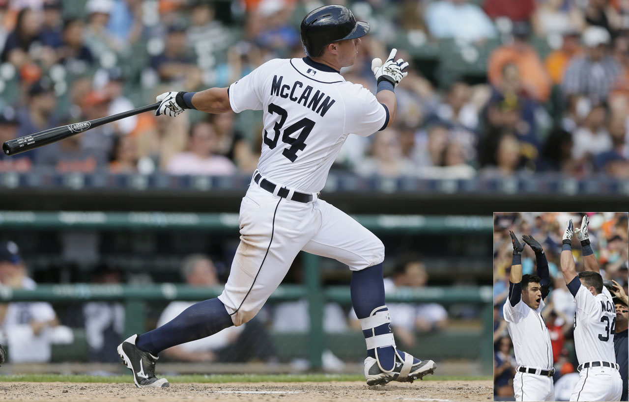 James McCann's solo shot off White Sox relief pitcher Zach Putnam gave the Detroit Tigers a 5-4 win in the ninth inning of a June 28 game.