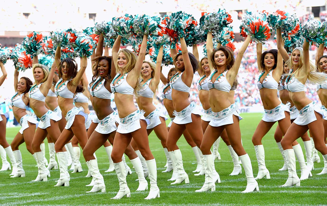 Nfl Cheerleaders Week 4 Si Com