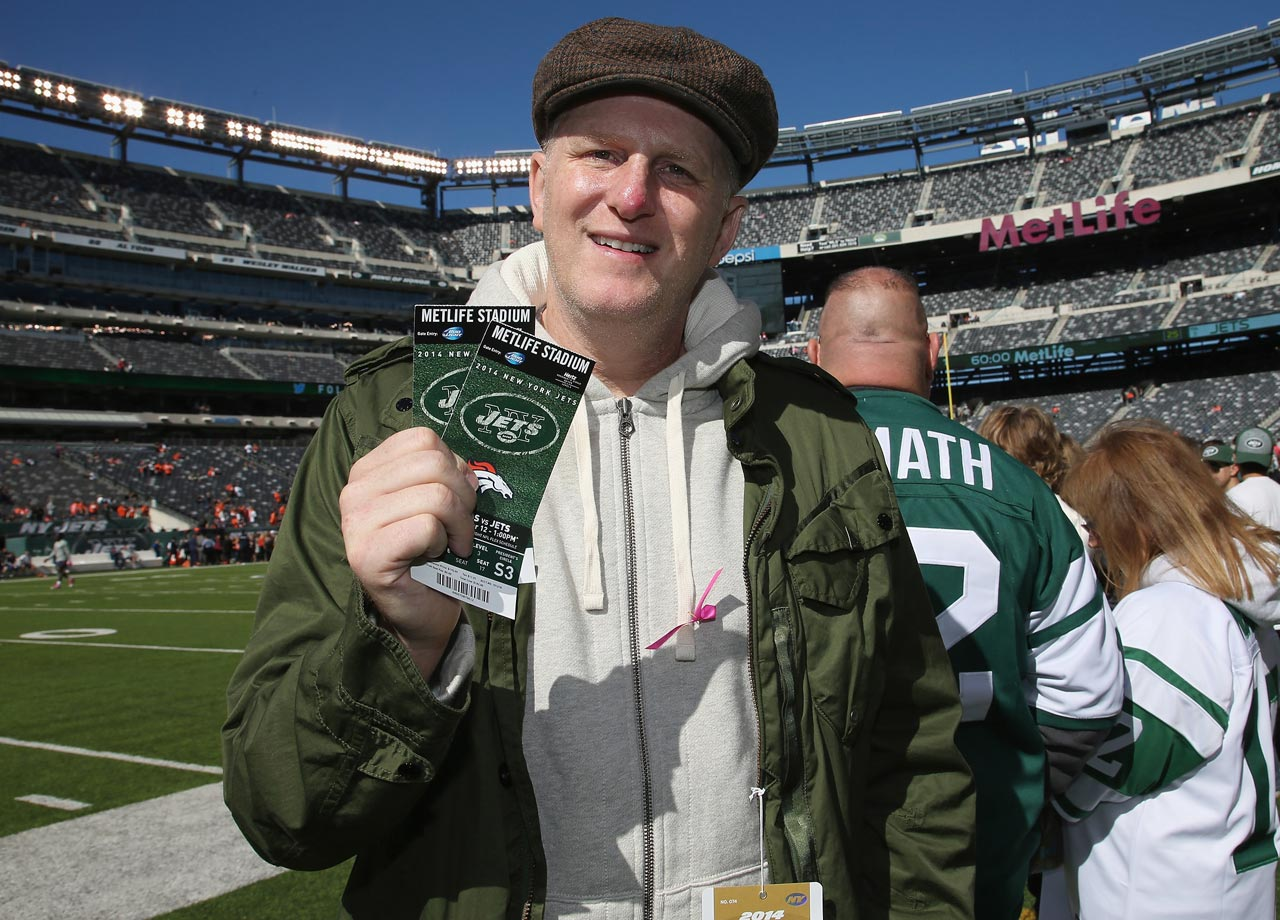 New York Jets vs. Denver Broncos on Oct. 12, 2014 at MetLife Stadium in East Rutherford, N.J.