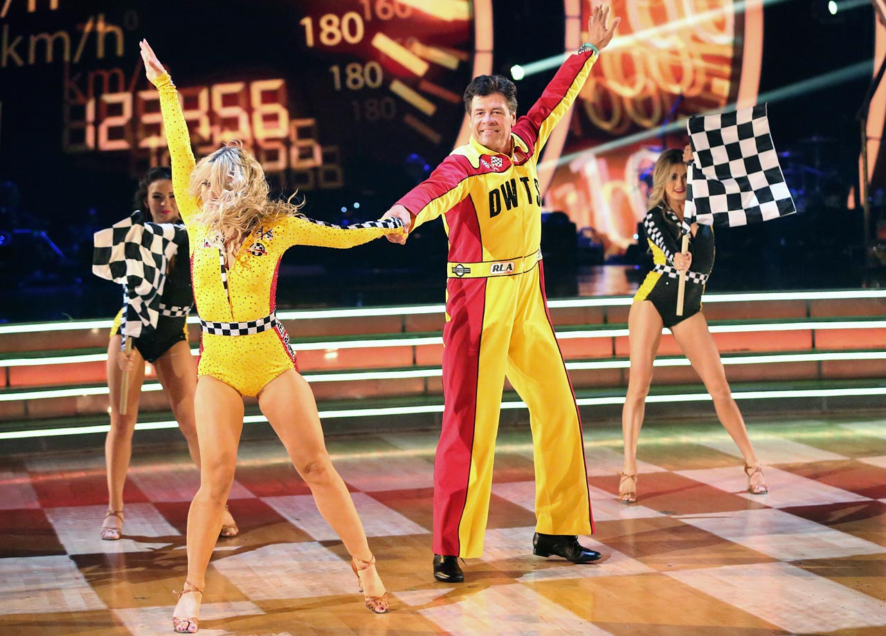 NASCAR driver Michael Waltrip finished in 7th place with dancing partner Emma Slater in Season 19.