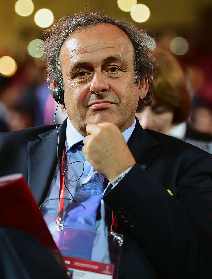 UEFA president; FIFA Vice President; FIFA presidential hopeful