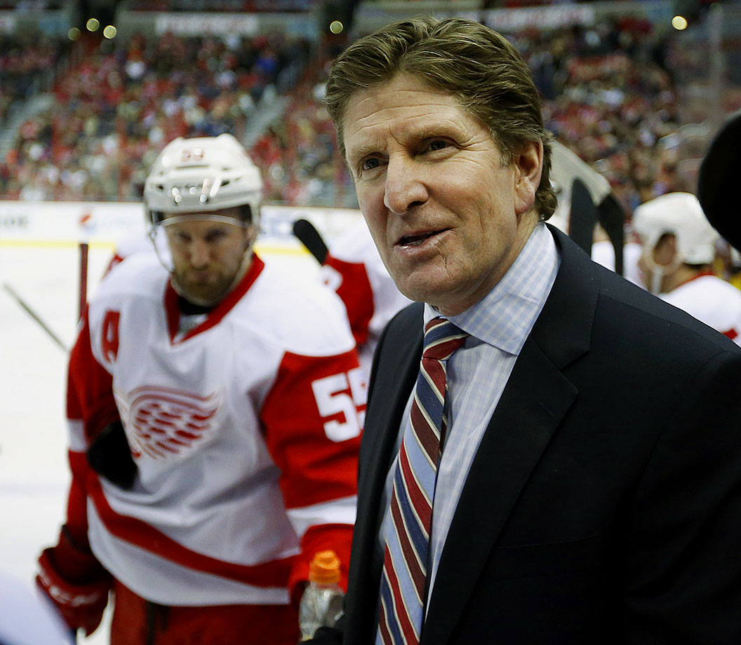 Mike Babcock had a legendary run as the head coach of the Detroit Red Wings, but at the end of the season he and the top brass could not come to terms on a contract extension, and Babcock found a new home in Toronto.