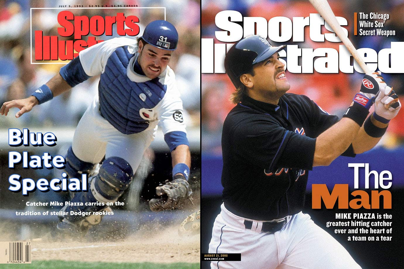 Of the 1,433 people selected in the 1988 Draft, catcher Mike Piazza was No. 1390. Piazza, who was drafted by the Dodgers largely because then-manager Tommy Lasorda was friends with the Piazza family, went on to hit more home runs than any catcher in baseball history.