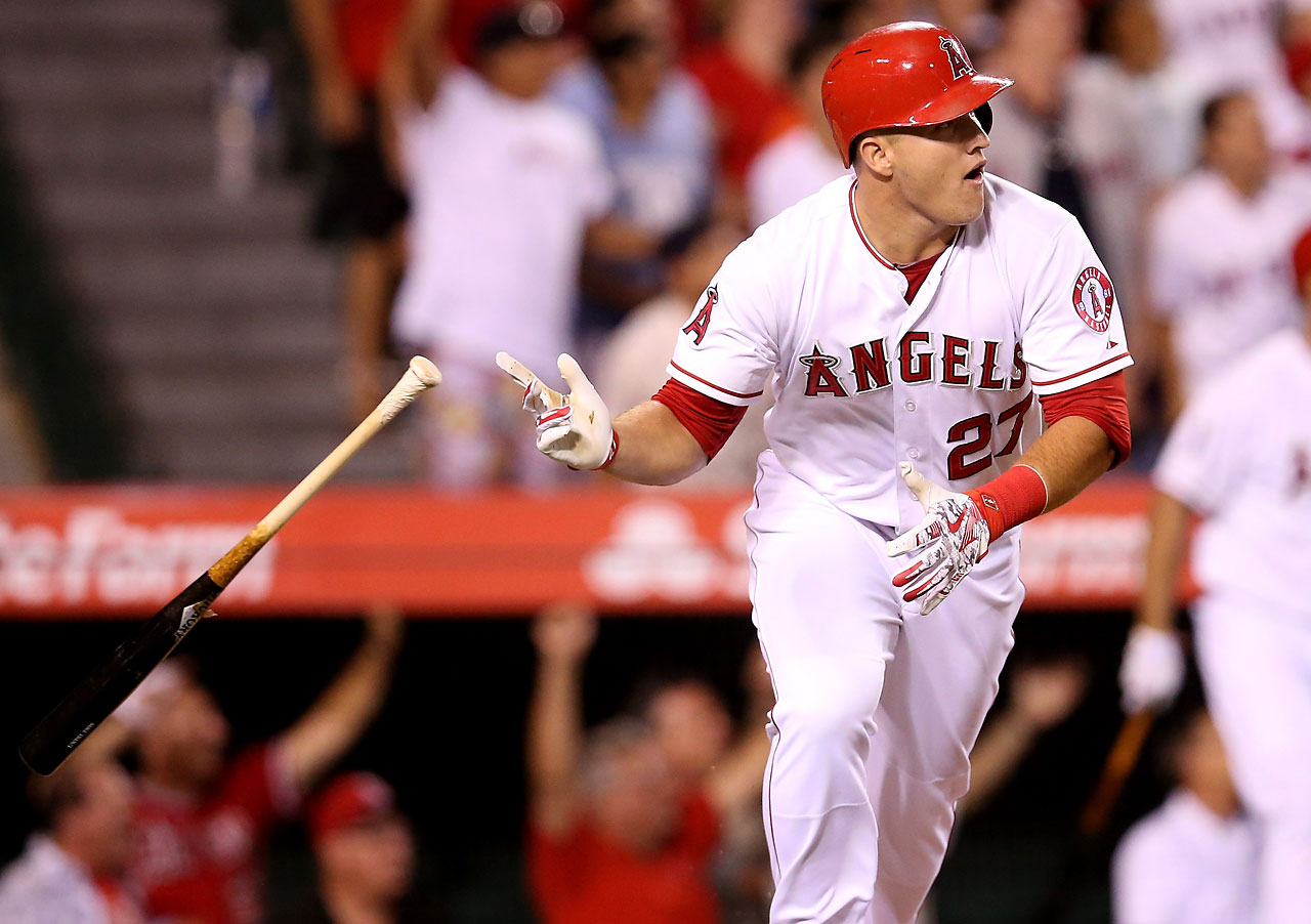 Mike Trout powered the Los Angeles Angels to a 1-0 win over the Boston Red Sox with a solo home run in the ninth inning on July 17.