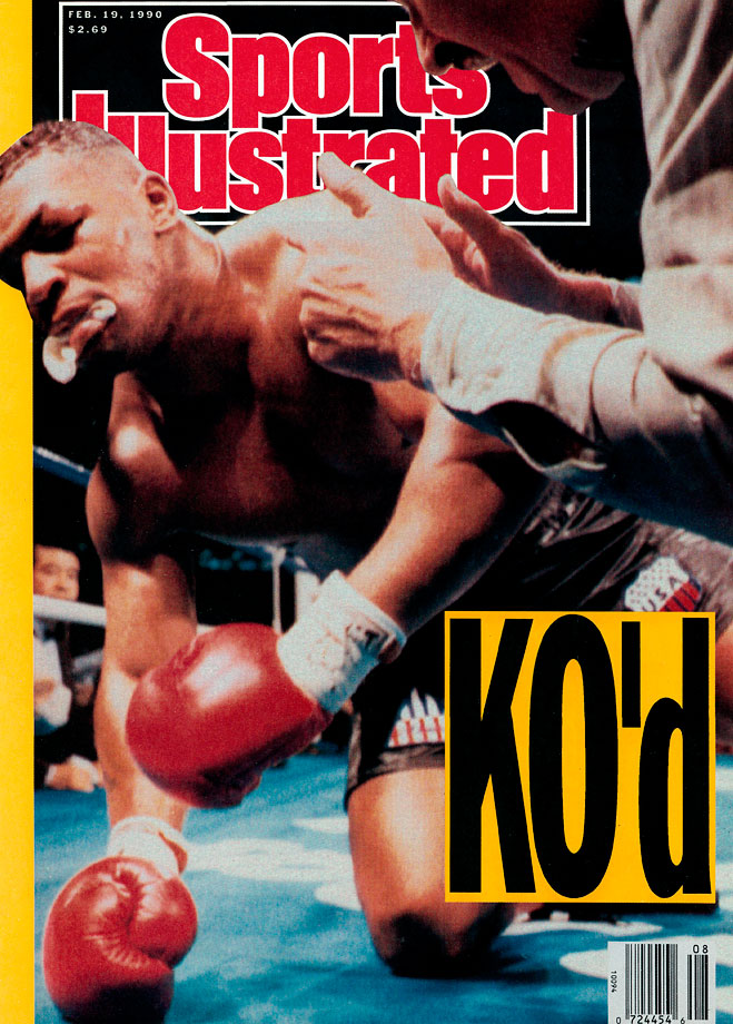That was how Sugar Ray Leonard, commenting on HBO, summed up 42-1 underdog Buster Douglas's KO of Mike Tyson on Feb. 11, 1990, at the Tokyo Dome. SI's cover brought that feeling home.