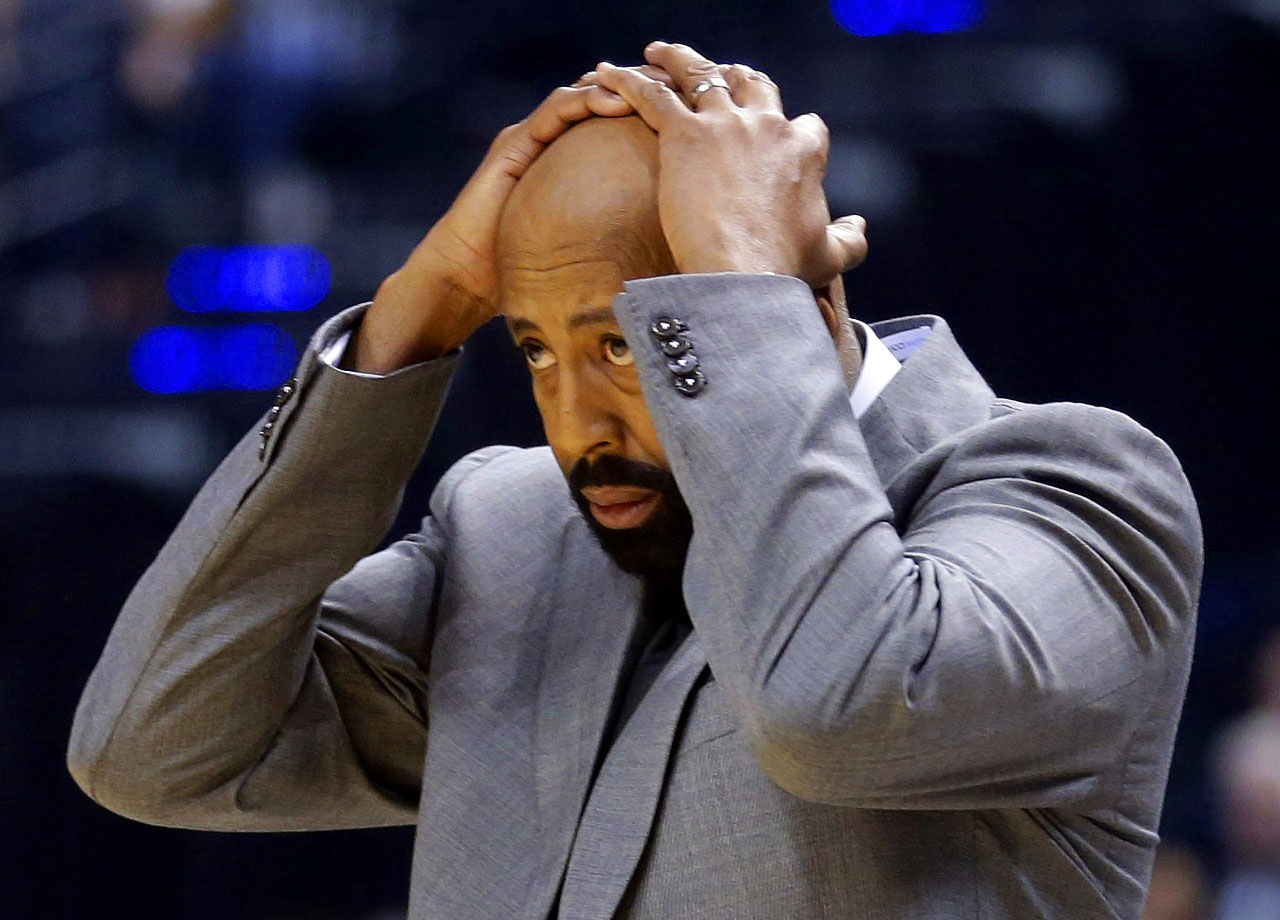 Mike Woodson and his entire coaching staff were fired on April 21 after missing out on the postseason for the first time in four years.  Woodson went 109-79 (.580) in two-plus seasons with the Knicks after replacing Mike D'Antoni in March 2012. He led New York to the playoffs in his first two seasons, including a second-round appearance last year after the team's first division title since 1993-94. Despite one year remaining on a contract to the tune of $3.3 million, his dismissal was largely expected after a ninth-place finish in the weak Eastern Conference.