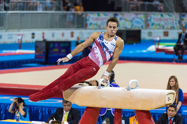 Usa Gymnasts Before Rio Olympics Sam Mikulak Donnell