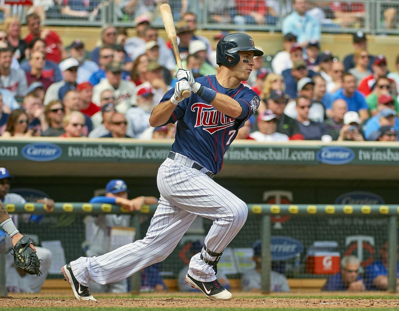 Arguably the best high-school player in the country, Mauer was a no-brainer at No. 1 for the Twins. Since debuting for Minnesota in 2004, Mauer has won an AL MVP award (2009) and won the batting title three times, the first catcher ever to do so. The six-time All-Star was shifted to first base in 2014.