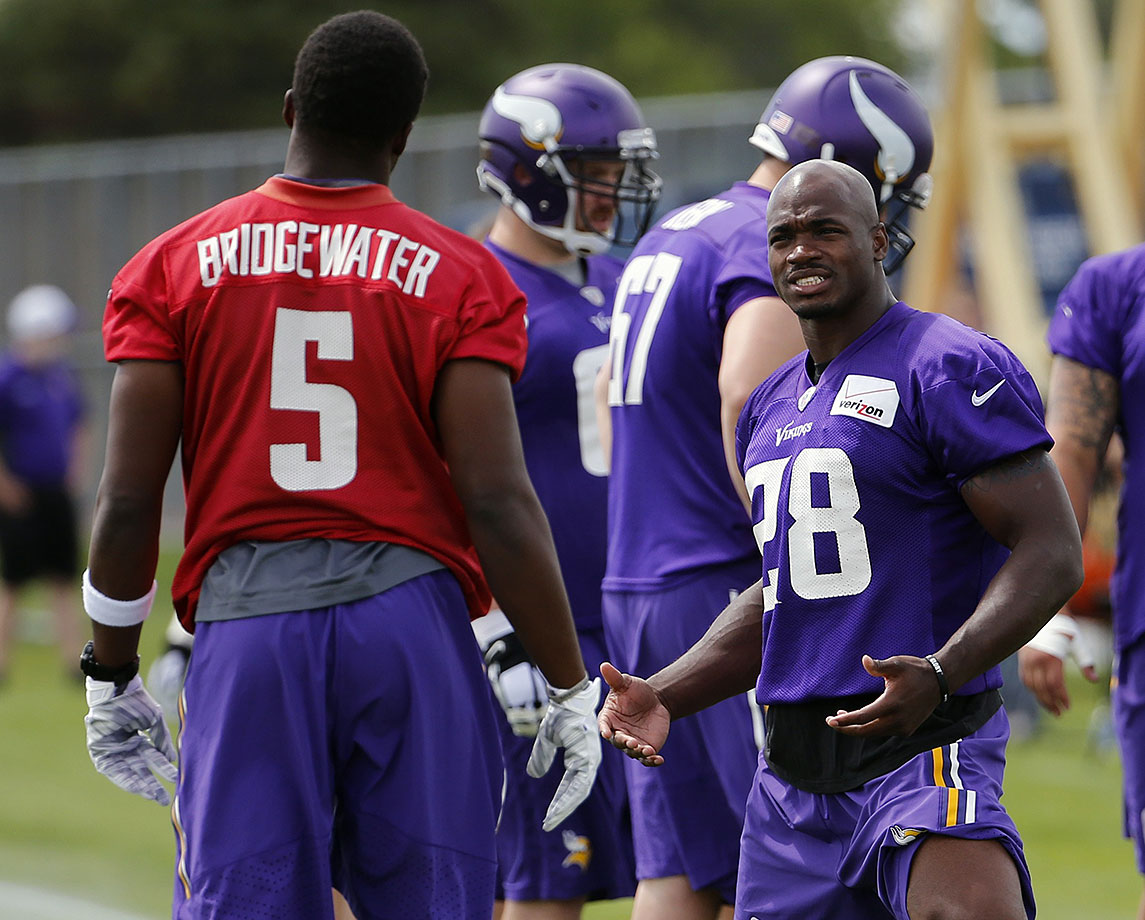 """Mix an angry 30-year-old running back, coming of an insane 15-game suspension, with a 22-year-old quarterback and a forever-grumpy wide receiver and you have the basis for an episode of """"Ballers"""" – not a Super Bowl champion. Bridgewater would have to break Big Ben's record for being the youngest QB to ever win the Super Bowl."""