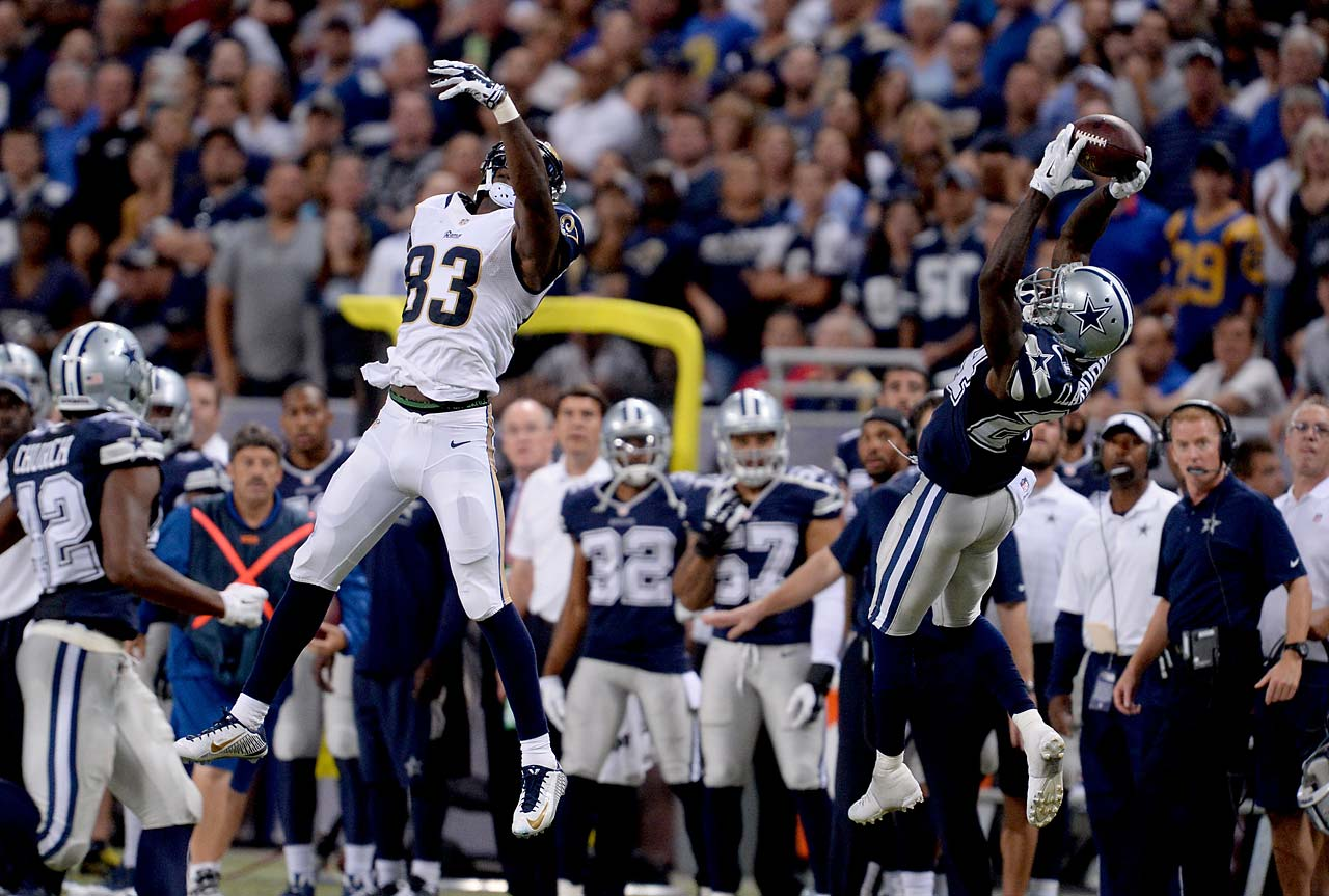 Morris Claiborne and the Cowboys came back from a 21-0 deficit to defeat St. Louis 34-31.