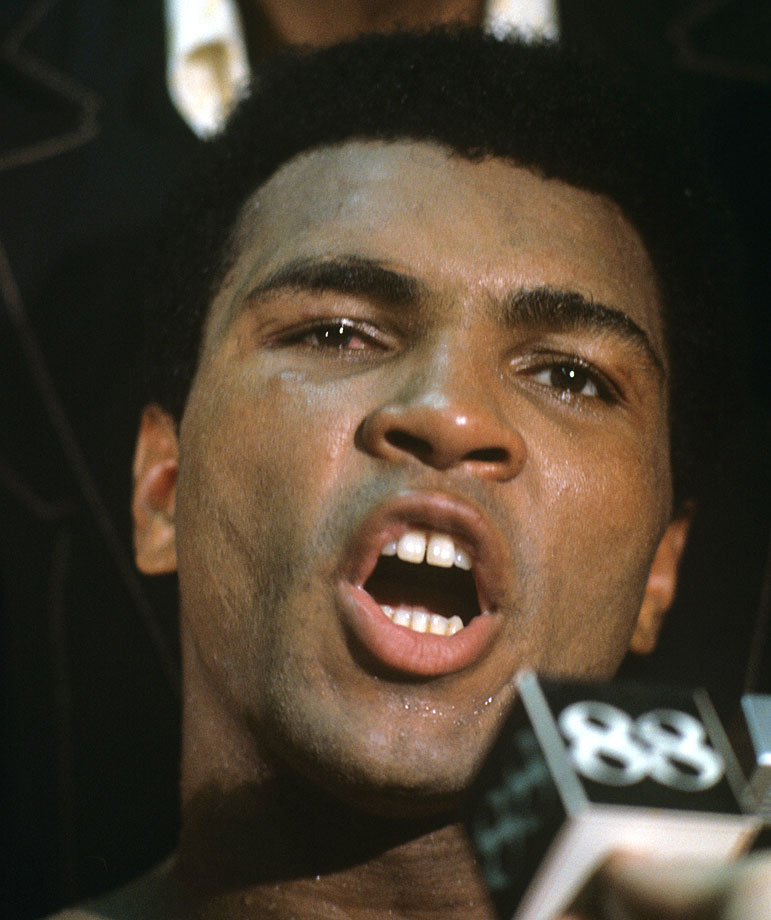 """Heavyweight champion of the world,"" Muhammad Ali said after the win. ""It's going to take about a week to sink in."""
