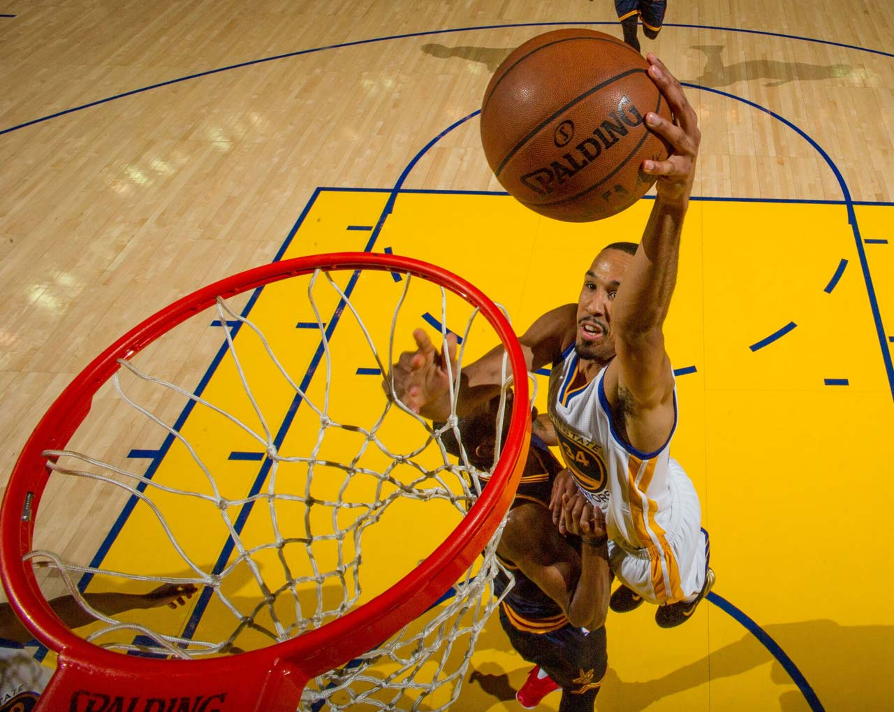 Shaun Livingston scored three points in 14 minutes of action.