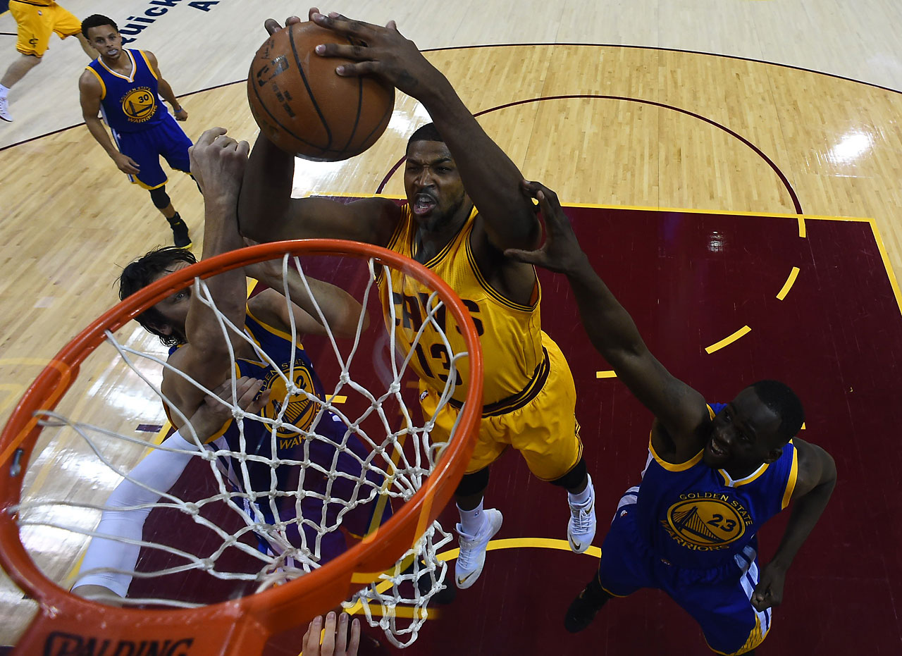 Tristan Thompson scored 10 points and had 13 rebounds for Golden State.