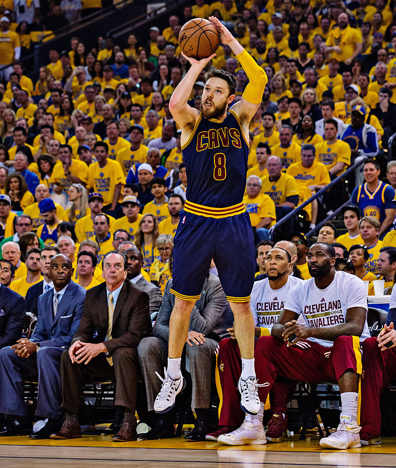 Matthew Dellavedova played 42 minutes but scored only five points.