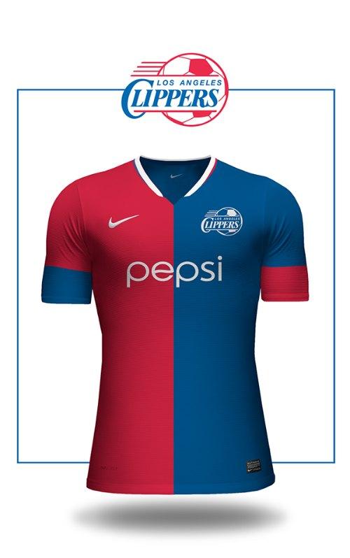 9d32408e2 NBA teams get their own soccer-style jerseys
