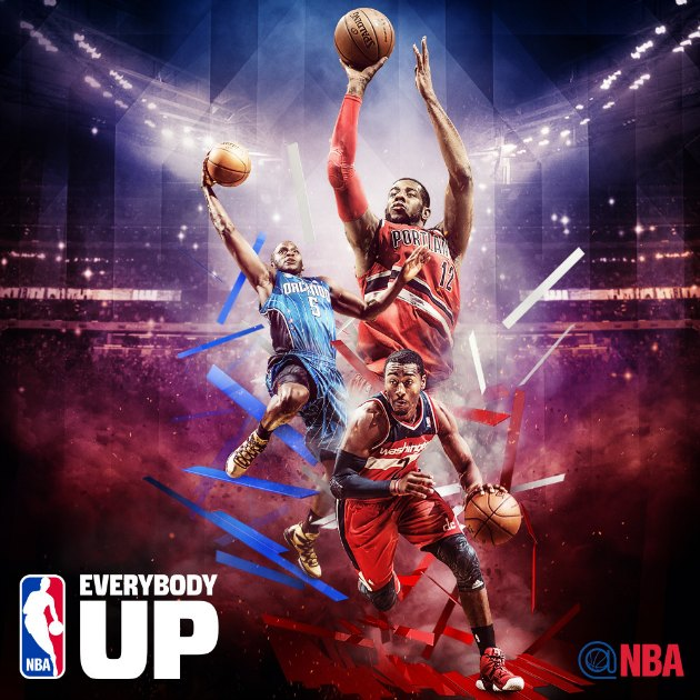 NBA Releases New Everybody Up Campaign Posters