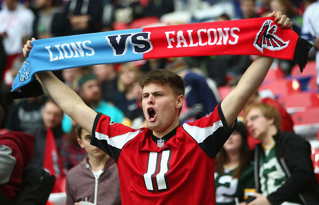 This exhuberant fan was among the soldout crowd of 80,000-plus at Wembley Stadium.