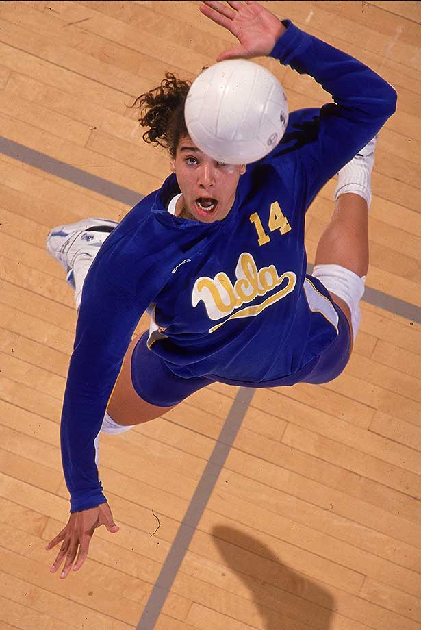 UCLA's Natalie Williams in a 1991 match against Stanford.