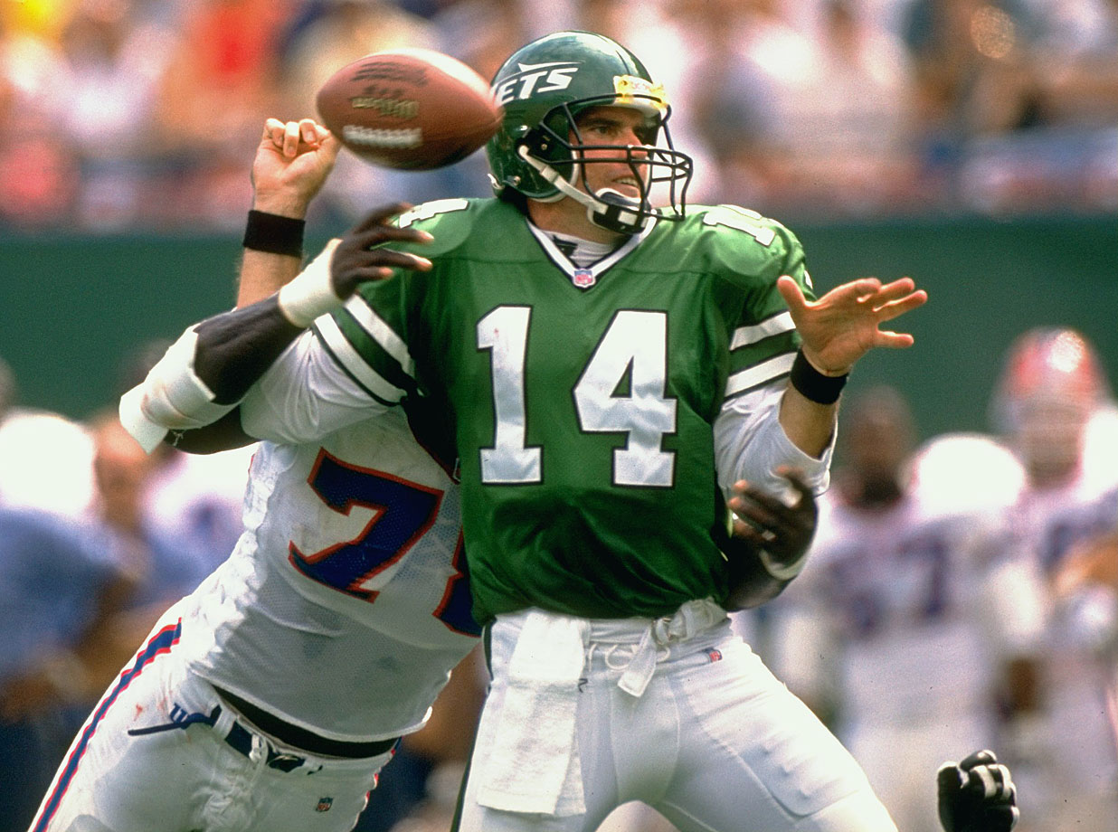 Perhaps the Jets should have taken O'Donnell's miserable performance in Super Bowl XXX as a warning sign, but they didn't. Instead, they signed him to a five-year deal worth $25 million. In his first season as a Jet, O'Donnell separated his shoulder and started only six games as the Jets went 1-15. A year later, he was benched numerous times by head coach Bill Parcells for poor play, and released in the offseason.