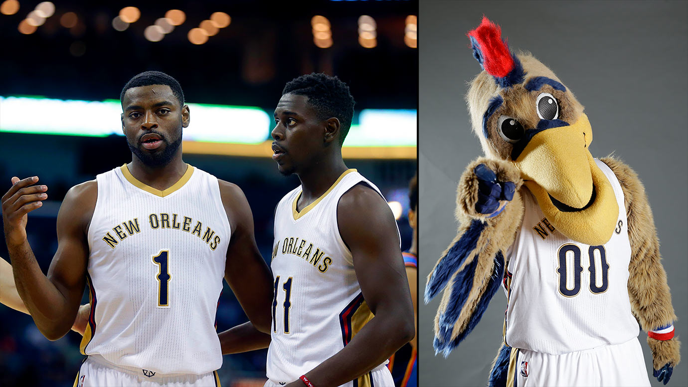 Alvin Gentry's ascribed offensive genius will not turn Jrue Holiday and Tyreke Evans into Steph Curry and Klay Thompson, and New Orleans's mascot still kind of creeps me out.