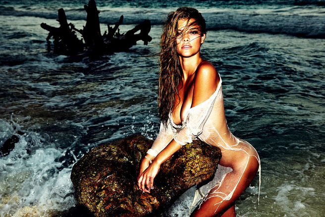 Nina Agdal for GOSEE Magazine