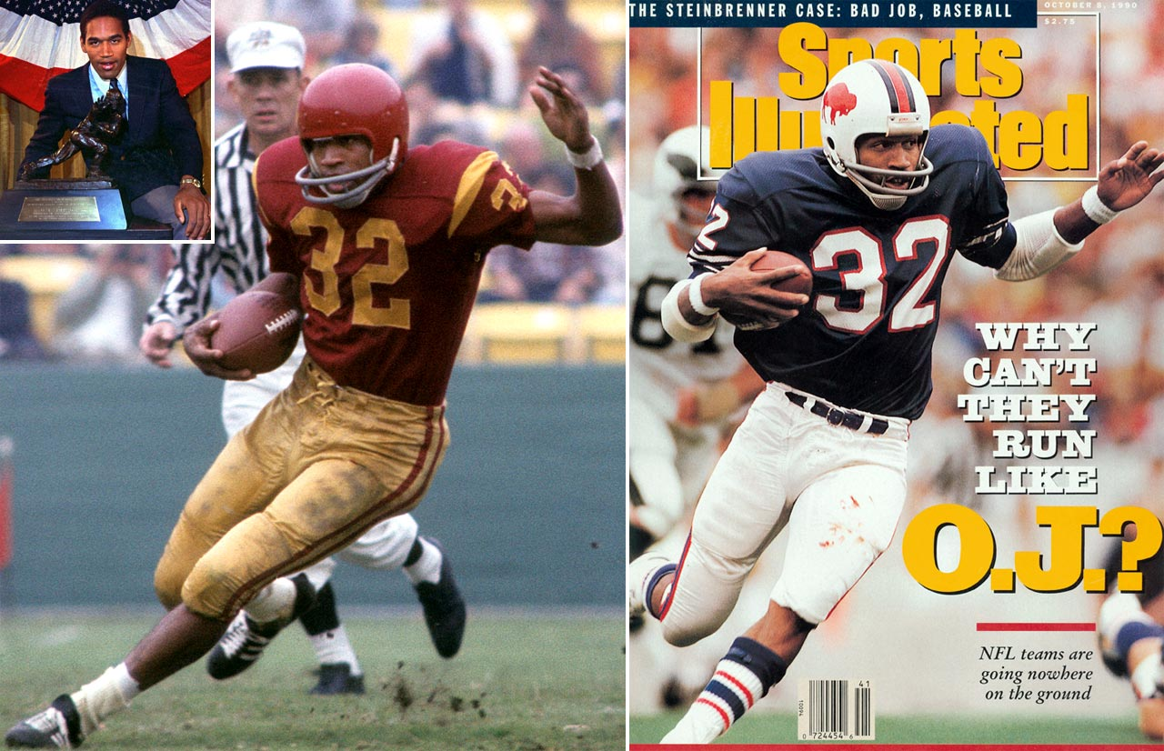 The Juice was a star at USC before joining the Bills in 1969. He struggled early in his career, but finally reached the 1,000-yard mark in 1972. He broke through in 1973, setting the all-time single season record with 2,003 yards in 1973. He continued to be one of the league's best runners until injuries caught up with him in 1977. He played two uneventful seasons in San Francisco before retiring.