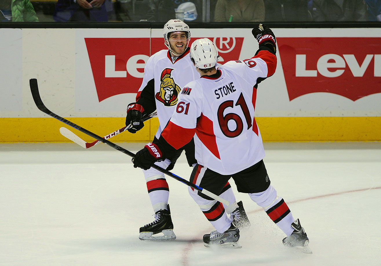 Hard to knock this team beyond saying they're good... but not good enough. The Sens are counting heavily on solid sophomore campaigns from Mike Hoffman and Mark Stone. The pair combined for 53 goals as rookies and might need to ramp that up to 60 to keep Ottawa in the hunt for a wild-card spot.