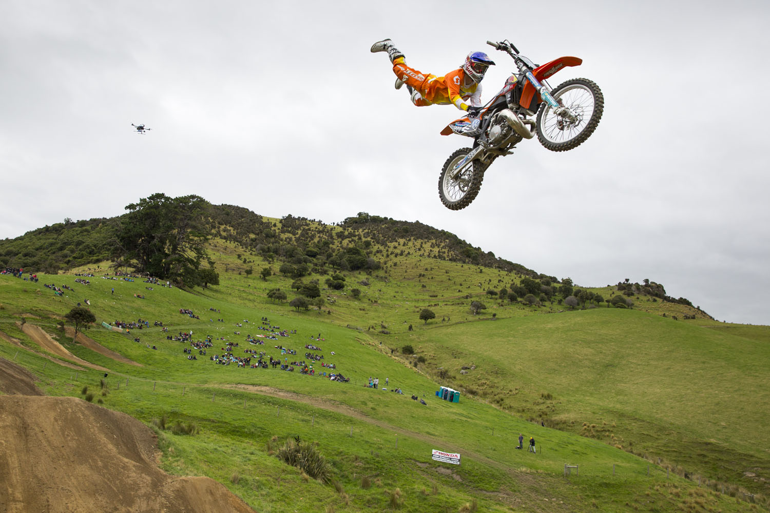 Nick Franklin at the Farm Jam in Winton, New Zealand.