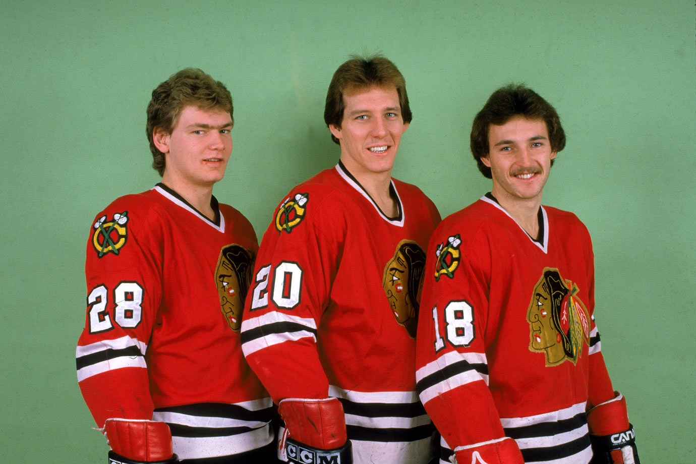 With Secord and Larmer on his wings, Savard certainly had a good time, leading the Hawks in scoring for seven seasons, including five 100-point campaigns. The trio set a team-mark of 297 total points in 1982-83, with Larmer (90) taking the Calder Trophy as the league's top rookie.