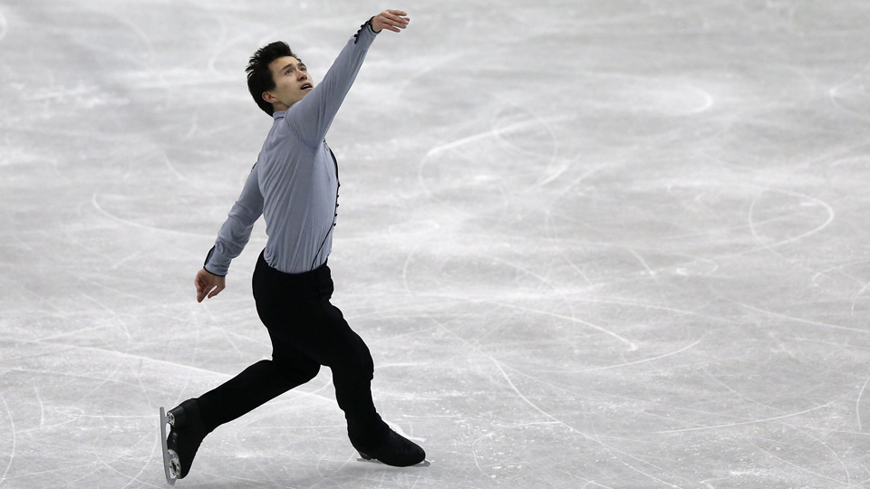 Canadian skater Patrick Chan is aiming to become his country's first gold medalist in men's singles.